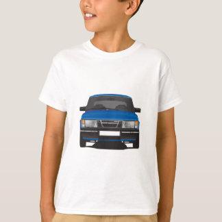 T-shirt Saab 900 turbo (bleu)