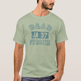 T-shirt Saab Viggen - BLEU