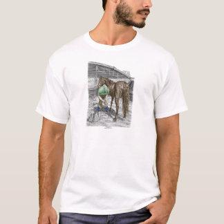 T-shirt Sabot de cheval de règlage de forgeron de