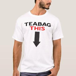 T-shirt Sac à thé cette pièce en t