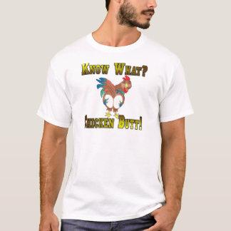 T-shirt Sachez ce qui ?  Bout de poulet !