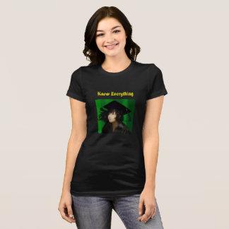 T-shirt Sachez tout -- or