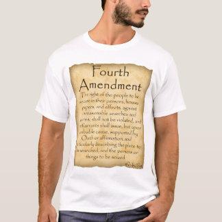 T-shirt Sachez votre Droit-Quatrième amendement