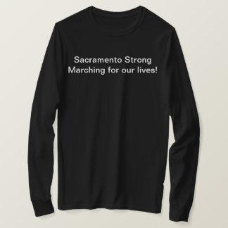 T-shirt Sacramento mars pendant nos vies, longue douille