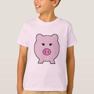 T-shirt Sadie le porc rose