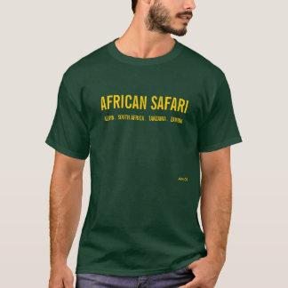 T-SHIRT SAFARI AFRICAIN - FORÊT PROFONDE