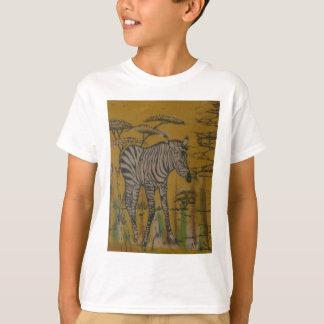 T-shirt Safari africain Zebra.png du Kenya de la vie