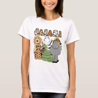 T-shirt Safari animal