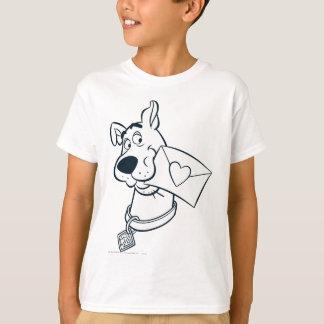 T-shirt Saint-Valentin 02 de Scooby