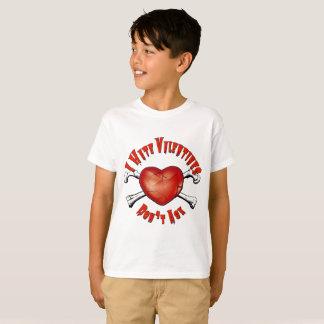 T-shirt Saint-Valentin de haine des Anti-Valentines I ; Ne