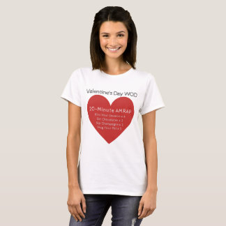 T-shirt Saint-Valentin WOD - Valentine Crossfit-Inspiré