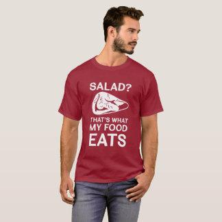 T-shirt Salade ? Est ce ce que ma nourriture mange