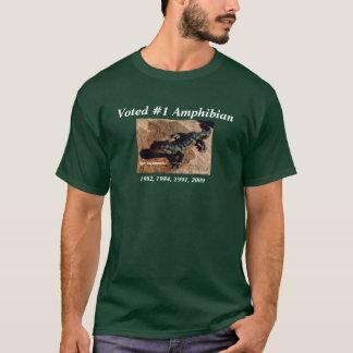 T-shirt Salamandre de tigre (vert)