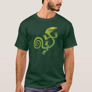 T-shirt Salamandre (vert)