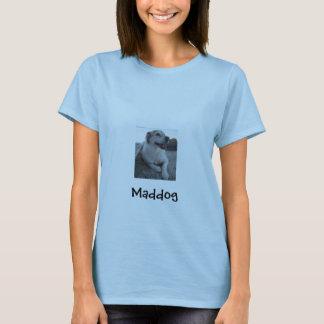 T-shirt salé de chien