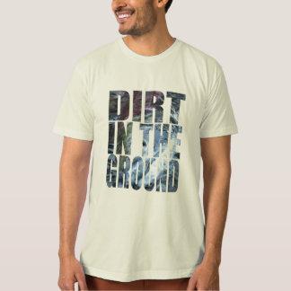 T-shirt Saleté dans la terre