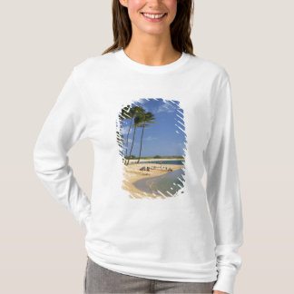 T-shirt Salez le parc d'étang situé sur l'île de Kauai