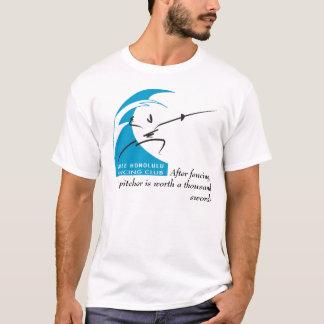 T-shirt Salle Honolulu : Après clôture, un broc est…