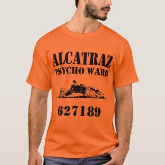 T-shirt Salle psychopathe d'Alcatraz (personnalisée)