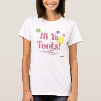 T-shirt Salut Ya Toots ! rose