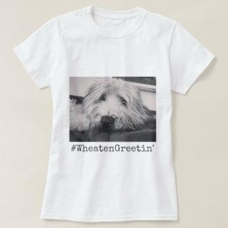 T-shirt Salutation blonde comme les blés