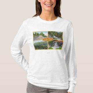 T-shirt Salutation de avec des vues pittoresques