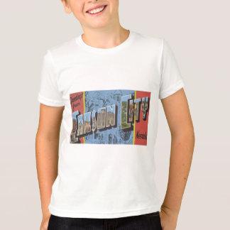 T-shirt Salutations de Carson City Nevada, cru