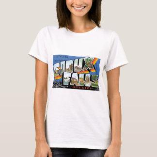 T-shirt Salutations de Sioux Falls, le Dakota du Sud !