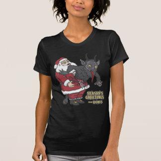 T-shirt Salutations de vacances de Krampus (et de Père