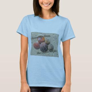 T-shirt Salutations des coquillages externes de banques