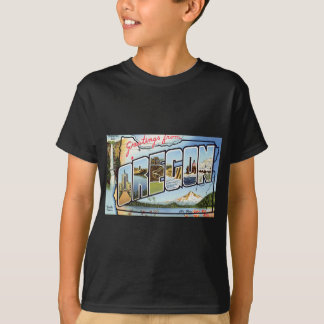 T-shirt Salutations d'Orégon