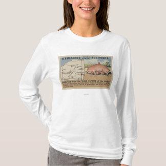 T-shirt Salutations du capital de porc du monde
