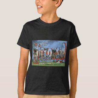 T-shirt Salutations du Wisconsin