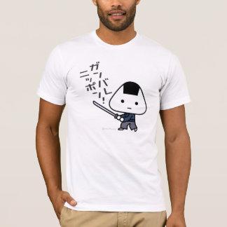 T-shirt - samouraï de Riceball - Ganbare Japon