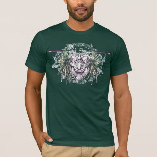 T-shirt samouraï - T-shirt foncé