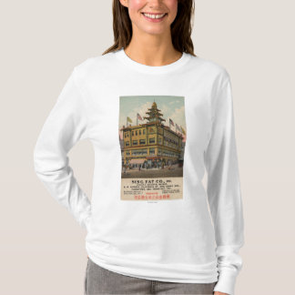 T-shirt San Francisco, CAChinatown AdSing grosse Cie.