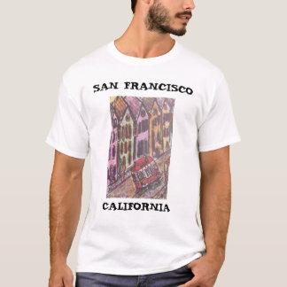 T-SHIRT SAN FRANCISCO, LA CALIFORNIE
