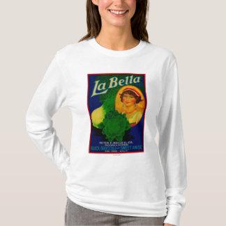 T-shirt San Jose, étiquette végétal de CaliforniaLa Bella