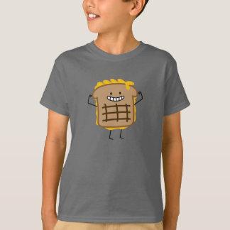 T-shirt Sandwich grillé heureux à fromage