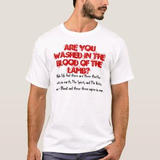 T-shirt Sang de l'agneau