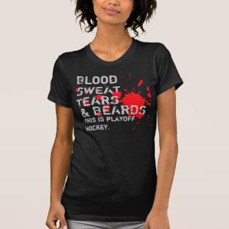 T-shirt Sang, sueur, larmes et barbes