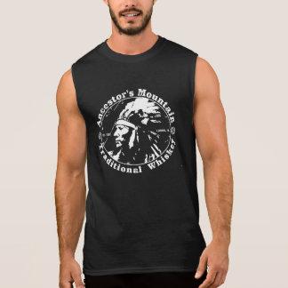 T-shirt sans manche de buveurs vintages de whiskey