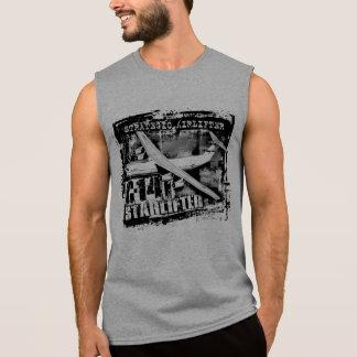 T-shirt sans manche de chemise de C-141 Starlifter