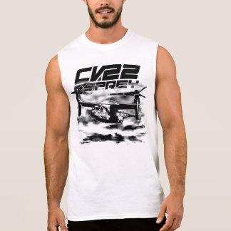 T-shirt sans manche de chemise du BALBUZARD CV-22