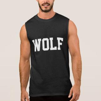 T-shirt sans manche de loup