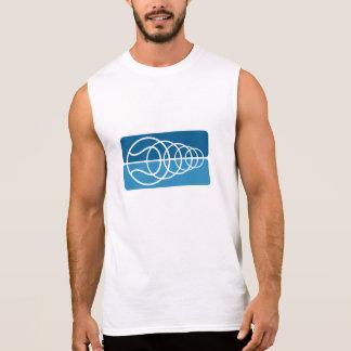 T-shirt sans manche de tennis pour les hommes