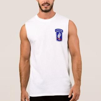 T-shirt Sans Manches 173rd Vétérinaires LRRP de vétérans de brigade