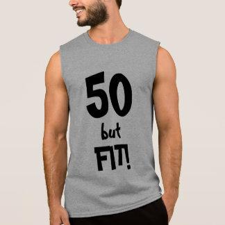 T-shirt Sans Manches 50 mais hommes 50 an d'AJUSTEMENT cool