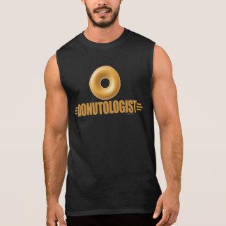 T-shirt Sans Manches Amant drôle de beignet vitré