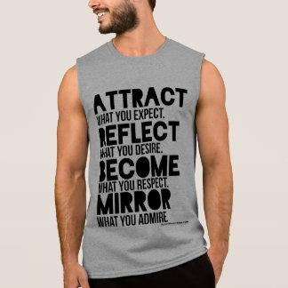 T-shirt Sans Manches ATTIREZ la chemise du muscle des hommes